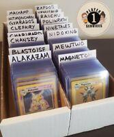 🥇 BASE SET HOLO RARE POKEMON CARD 🥇 Authentic 1999 WOTC Gen 1 Pokémon
