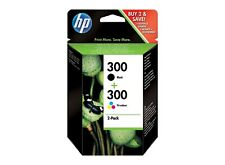 HP 300 Black and Tri-color Ink Cartridge Combo Pack (CN637EE), FREE POSTAGE