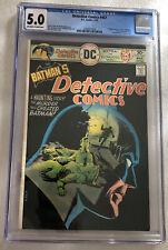 Detective Comics #457 CGC 5.0 OW/W 1st app Leslie Thompkins DC Comics Mar 1976