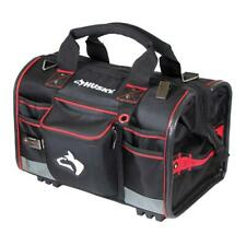 Husky Tool Bag Storage 18 in. Large Mouth Zippered Top Water-Resistant Black