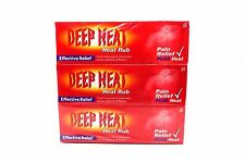 Deep Heat Pain Relief Muscle Rub Effective Relief 100g  x6