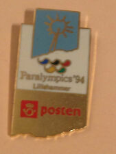 OLYMPIC PIN´S - LILLEHAMMER 1994 - RARE PARALYMPICS POSTEN - GAMES OLIMPIC (E39)