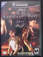 Resident Evil Zero  (Game Cube, 2002)