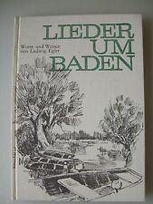 Lieder um Baden Worte und Weisen von Ludwig Egler mit Klavier Gitarrenbegleitung