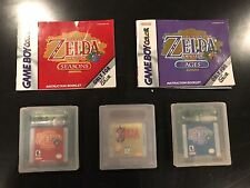 Legend of Zelda: Oracle of Ages, Seasons, and Link's Awaking (Nintendo Game Boy)
