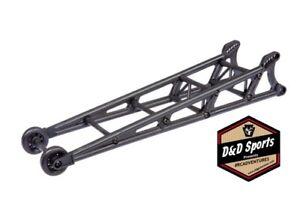 Traxxas 9460 Wheelie bar black assembled wheelie bar mount Drag Slash