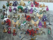 LIQUIDACION RESTOS LOTE MIGHT & MAGIC CLASH OF HEROES 47 MUÑECOS+CARTAS  5-8cm
