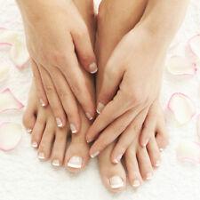 24Pcs French Design Natural Fake Nails Press On Natural False Toe Nails Daily