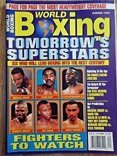 WORLD BOXING MAGAZINE SUMMER 1998 TOMORROWS SUPERSTARS!!