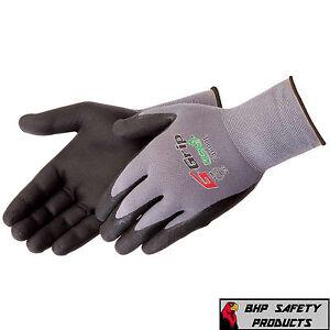 12, XL Orange River Nitrile Palm Coated Safety Glove Level 5 Anti-Cut