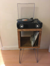 Industrial Record Player Stand,Storage Record Cabinet ,TV Unit ,Hairpin Legs