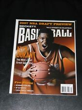 2007 NBA Draft Preview BECKETT Basketball Magazine July Issue #204