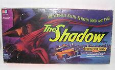 The Shadow Board Game 1994 Milton Bradley & CD Set