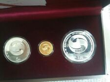 China 2017 Gold and Silver Coins Set - Belt and Road Forum