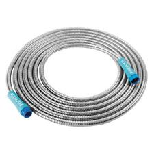 Garden Hose Indestructible Stainless Steel Choose From 25ft 50ft 75ft 100ft