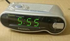Emerson Research CKS1701 SmartSet Dual Alarm AM FM Auto Clock Radio