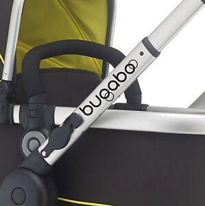 BUGABOO Replacement pram logos. Vinyl decal pushchair, stroller Transfer sticker