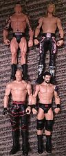 Muñeco básico Mattel WWE paquete Batista, borde, Kane & malas noticias Barrett