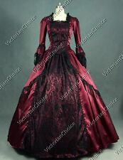 Renaissance Victorian Queen Gothic Vintage Gown Dress Theater Clothing N 142 XL