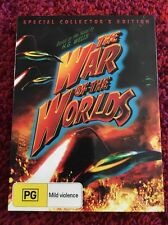 The War Of The Worlds Dvd - Region 4  Special Collectors Edition