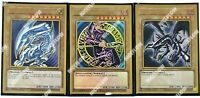 Blue Eyes White Dragon Dark Magician Red Black Maximum Premium Gold MAGO Yugioh
