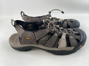 Keen Newport H2 Hiking Sandals Water Shoes Mens Size 14 Brown Gray EUC