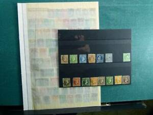 Greece collection, on stockbook page, stamps, mainly used, classic, of value