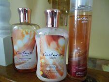 Bath & Body Works Cashmere Glow Shower Gel,Lotion & Fragrance Mist