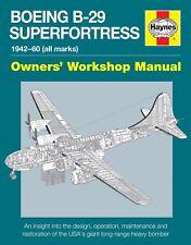 Haynes Boeing B-29 Superfortress Manual H5790