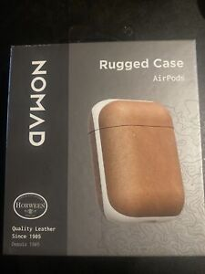 NOMAD Rugged Case for AirPods Natural Leather *monogramed*