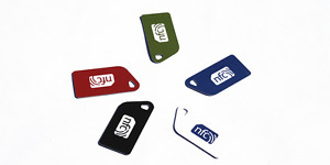5  Colour  NFC Tag Plastic Key Cards NTAG213 Compatible: Android / iPhone