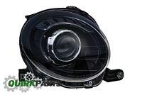 2012-2017 FIAT 500 BLACK FRONT RIGHT PASSENGER SIDE HEADLIGHT LAMP OEM GENUINE
