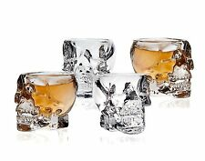 3D Skull Shot Glass Cup- Set Of 4