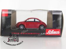 04531 SCHUCO 1:43 - MOULÉ SOUS PRESSION Volkswagen NEUF BEETLE ROUGE - ÖVP -