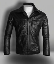 Elvis Presley Inspired Celebrity Black Biker leather Jacket