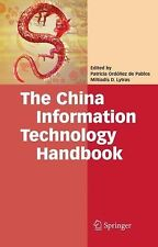 NEW The China Information Technology Handbook by Miltiadis D. Lytras Hardcover B