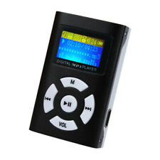 New listing Usb Mini Mp3 Player Lcd Screen Support 32Gb Micro Sd Tf Card Black Music Player