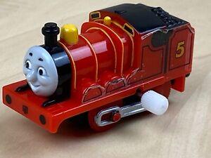 Thomas the Tank Engine & Friends - James - Gullane 2005 Mini Wind Up Train