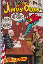 SUPERMAN'S PAL JIMMY OLSEN #128 (1970) COMIC BOOK ~ DC Comics