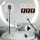 """10""""LED Ringlicht Ringleuchte Lampe Handyhalter Kit Selfie mit Stativ Fotografie <br/> ✿ Für GoPro ✿ MIT Bluetooth Fernbedienung ✿ Dimmbar ✿"""
