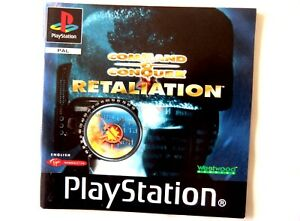 58650 Instruction Booklet - Command & Conquer Retaliation - Sony PS1 Playsta