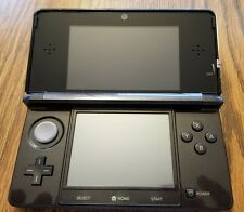 Nintendo 3DS Launch Edition Cosmo Black Handheld System