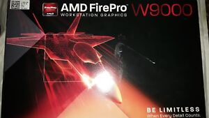 AMD FirePro W9000 6GB GDDR5 6x Mini DisplayPorts PCIe Video Graphics Card