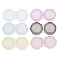 2 / 10pcs boîte de lentille en plastique trempant le support de cas de stockaLTA