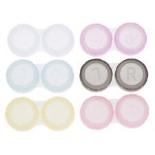 2/10pcs Lens Box Plastic Soaking Portable Travel Contact Storage Case HolderYYY