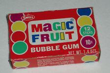 1970's Swell MAGIC FRUIT bubble gum box