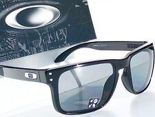 a2ebd7d11 Novo * Preto Oakley Holbrook Lentes Polarizadas Cinza Óculos de Sol oo9102 -02