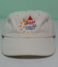 Bass Ale rare vintage beer hat Legendary summer Budweiser promotional cap