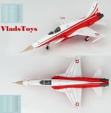 Hobby Master 1:72 F-5E Tiger II Swiss AF Patrouille Suisse w/Decal Sheet HA3332