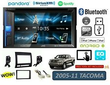 05-11 FOR TACOMA JVC TOUCHSCREEN BLUETOOTH USB CD/DVD/CAR RADIO STEREO PKG